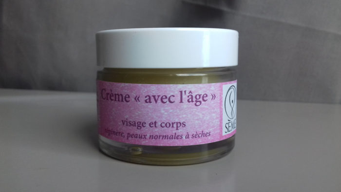 """Crème """"avec l'âge"""" Sème"""