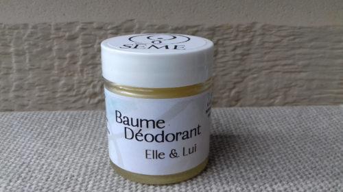 Baume déodorant Elle & Lui Sème