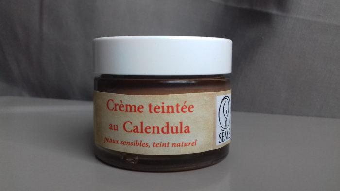 Crème teintée au Calendula Sème