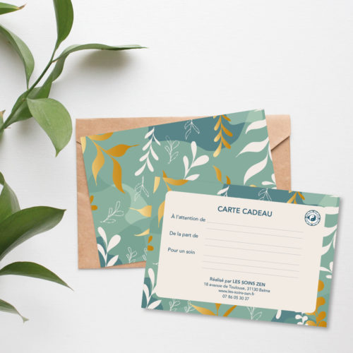 Carte cadeau-Les Soins Zen